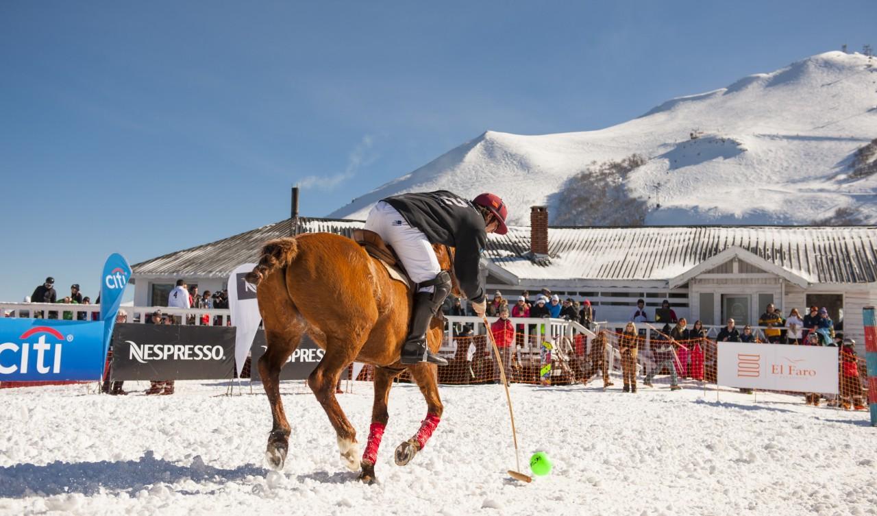 Snow Polo en Cerro Bayo