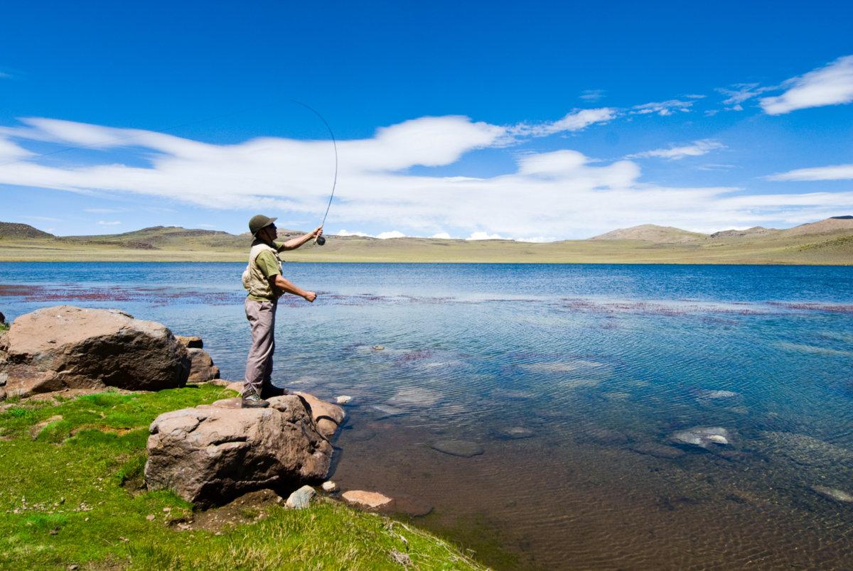 Pesca Deportiva en Norte Neuquino