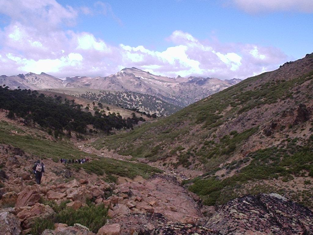 Trekking en el faldeo del cerro La Atravesada