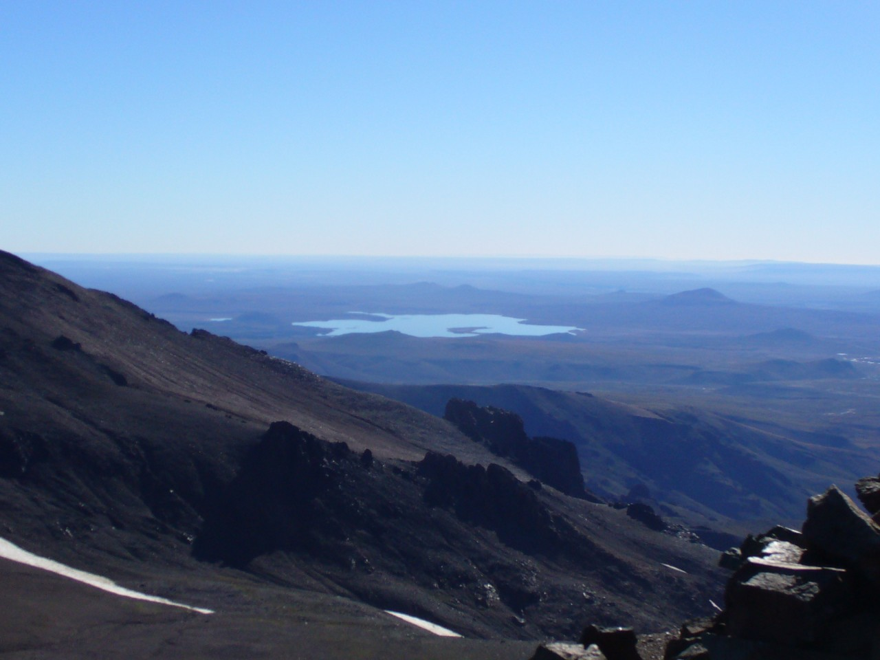 Impresionante panorámica desde el cerro Chachil