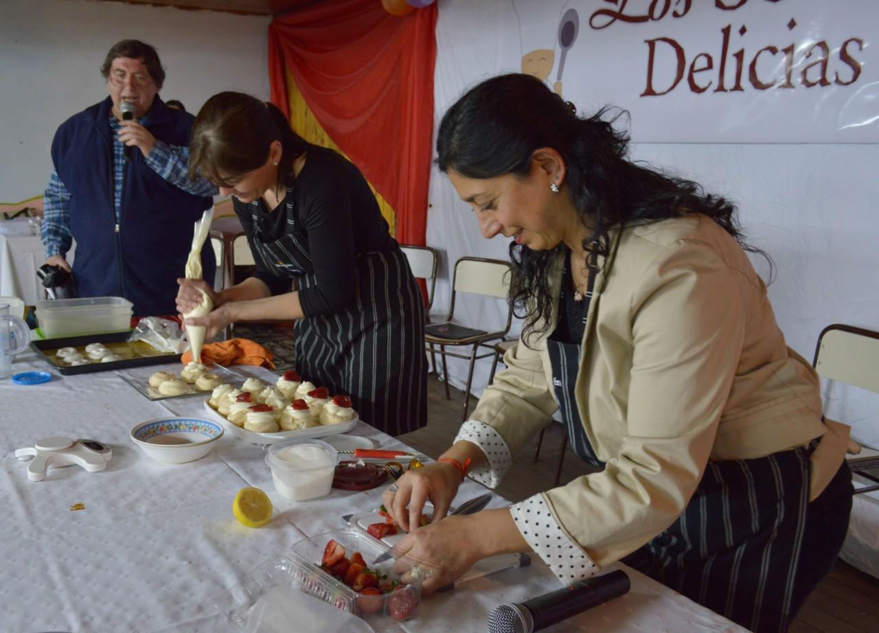Cocina en vivo Marisa Focarazzo y Yanine Buamscha