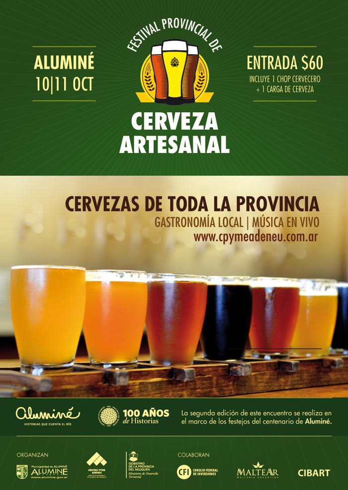 Se viene el 2º Festival de la Cerveza Artesanal en Aluminé | Neuquén ...