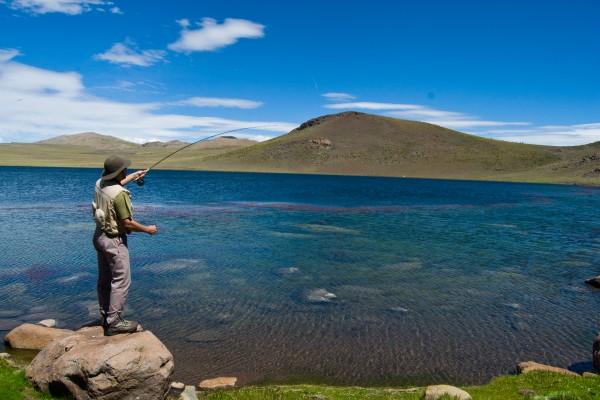 Laguna Huaraco. Norte Neuquino