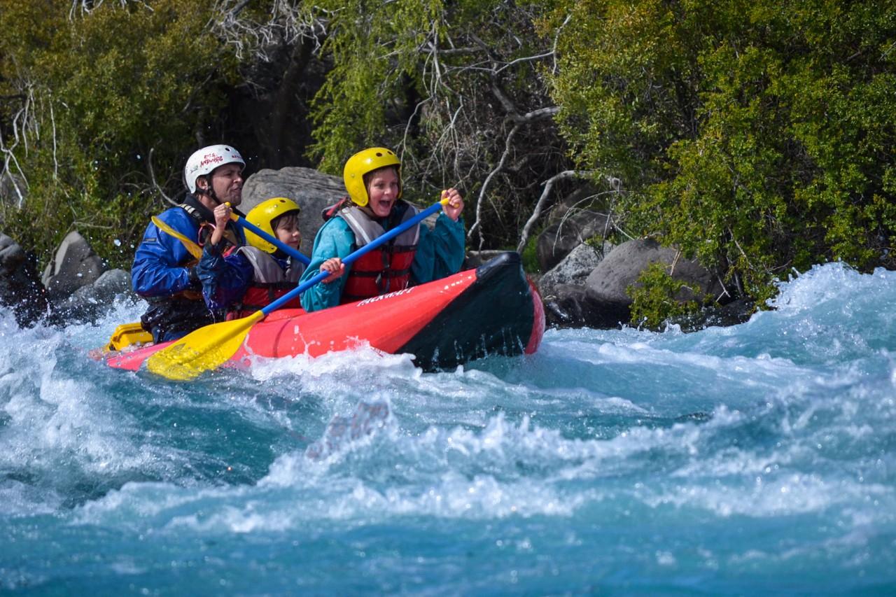 """Río Chimehuín. Fotografía de """"Pomelo"""" Bianchi, guía de kayak"""