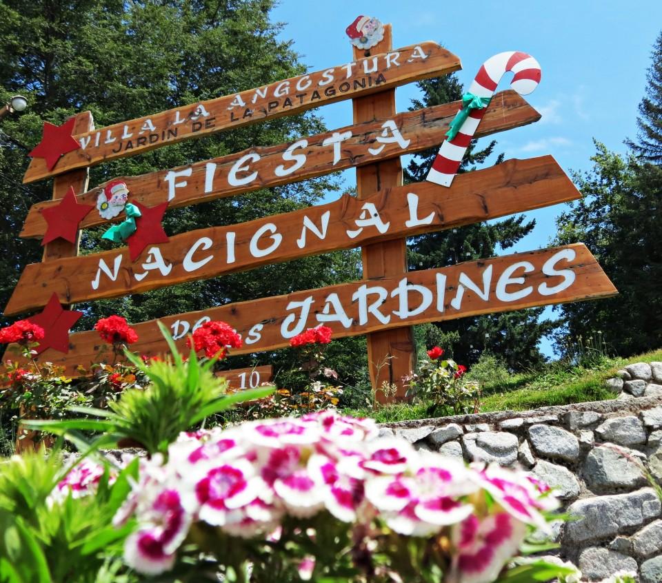 Cartel Fiesta Nacional de los Jardines