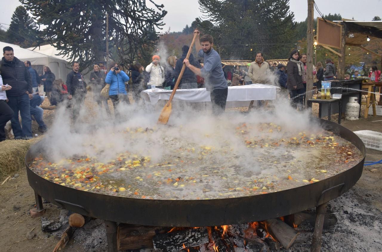 Neuquen 01-05-2016 Festival del Chef en villa Pehuenia