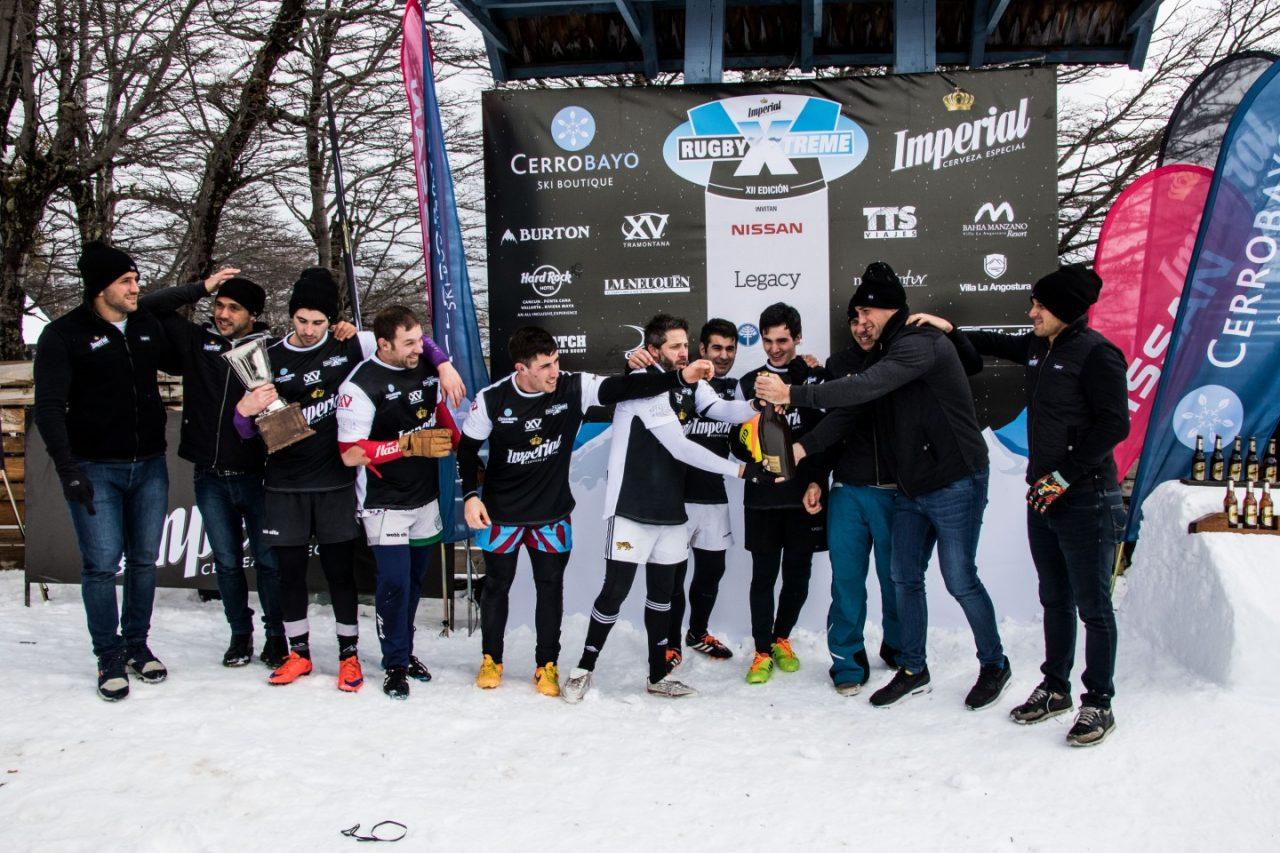 Entrega de premios del Imperial RugbyXtreme de Cerro Bayo