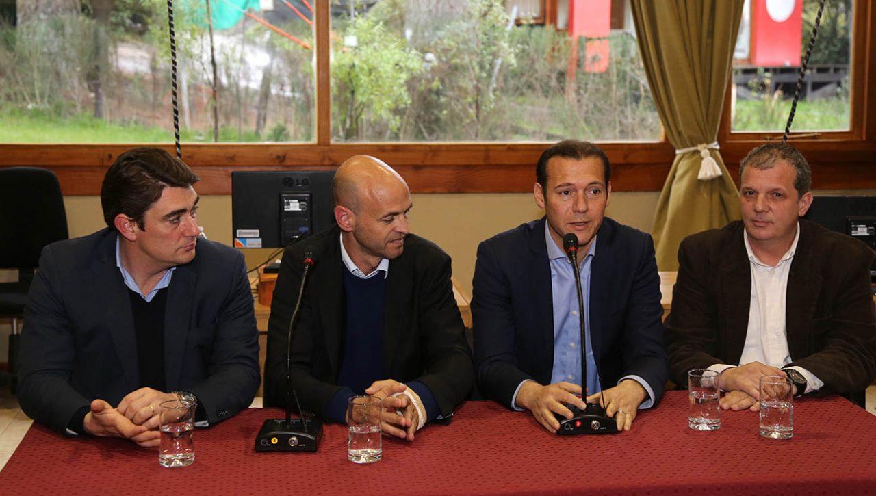 Villa la Angostura 16-09-2016 Omar Gutierrez y Ministro Dietrich