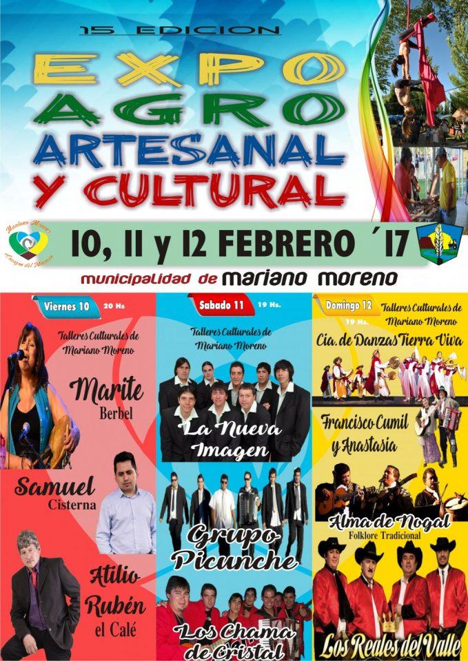 Expo Moreno 17 Afiche