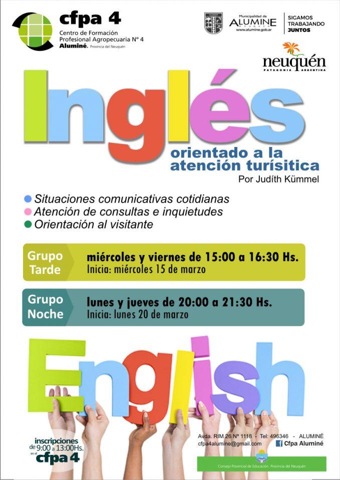 Curso Idioma Inglés - Aluminé