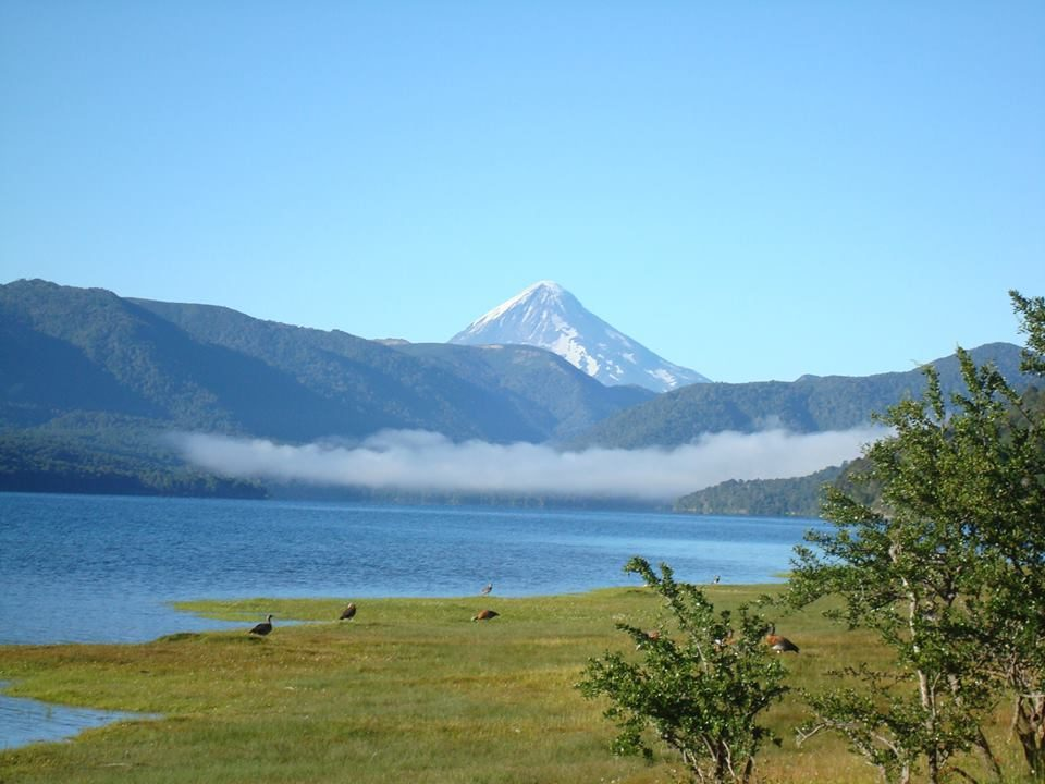Lago Quillén de acá a SMA