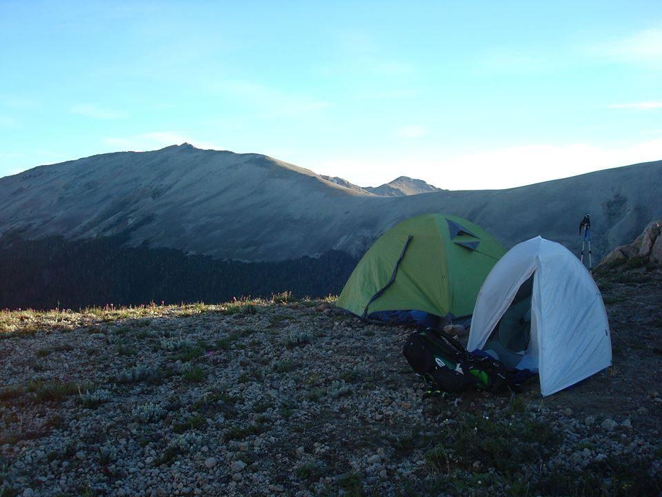 campamento en moquehue