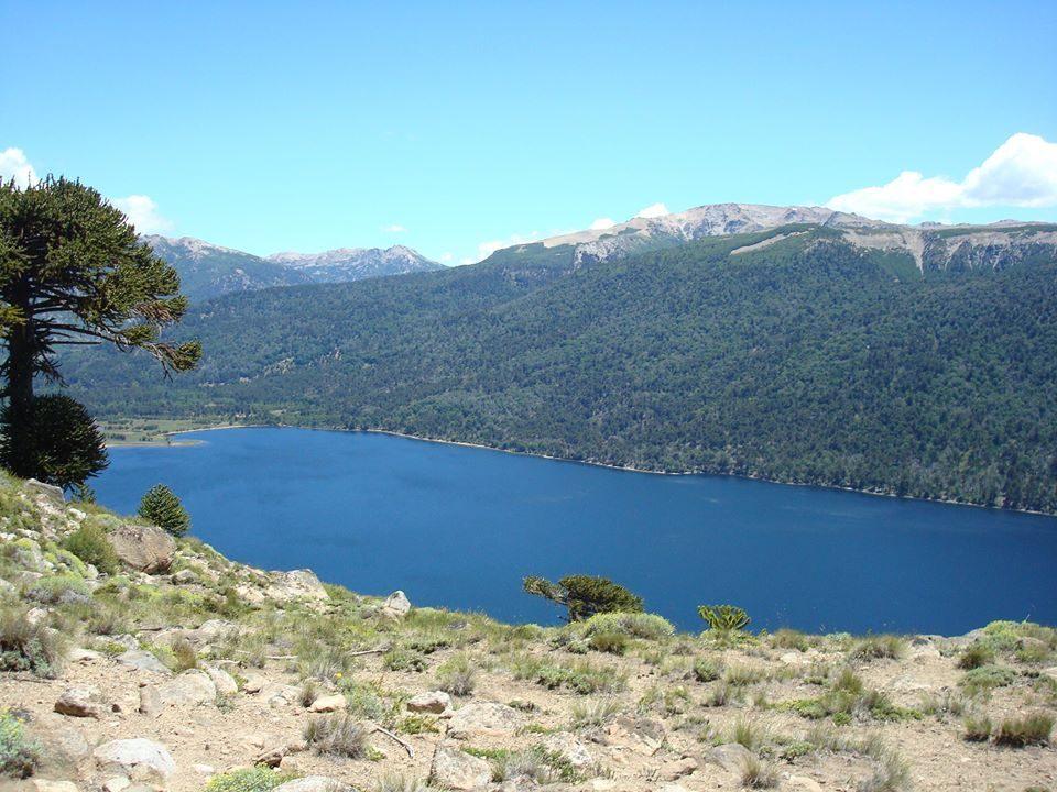 lago Ruca Choroy (etapa más alta, 2000 msnm)