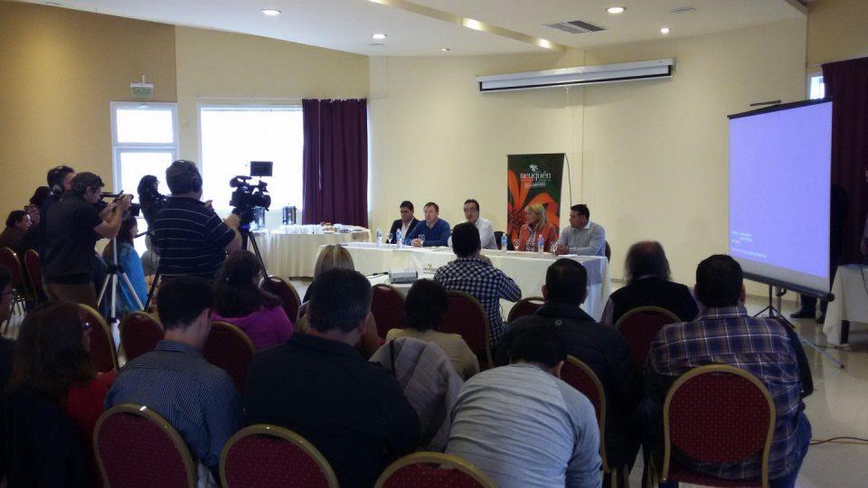 Conf Prensa Shale Tour