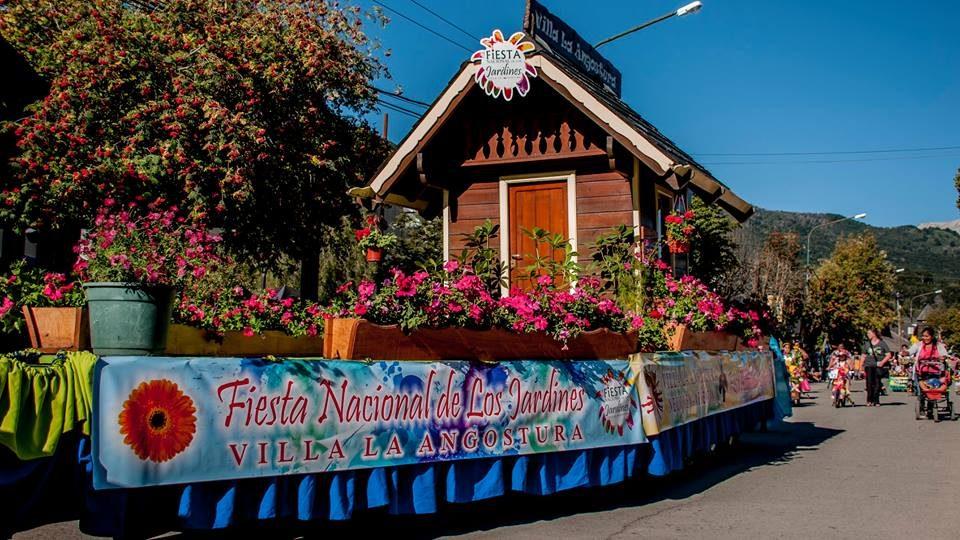 Comenz la fiesta nacional de los jardines en villa la for Jardin 6 neuquen